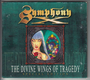 SYMPHONY-X-The-Divine-Wings-of-Tragedy-CD-1997-10-Song-Special-Edition-Digipak