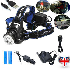 8fe5a36d85b 6000LM LED Headlight Torch Cree T6 Running Work Rechargeable Headlamp Head  Light