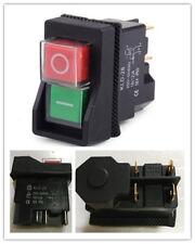 125V KJD17 IP55 4 Pin Start Stop No Volt Release Switch for Workshop  CN