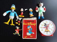 Lot de divers articles Walt Disney Mickey Figurines