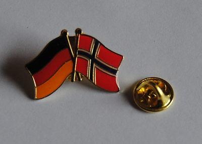 FREUNDSCHAFTSPIN PIN 0088 ANSTECKER DEUTSCHLAND//KROATIEN FAHNE METALL PINS NEU