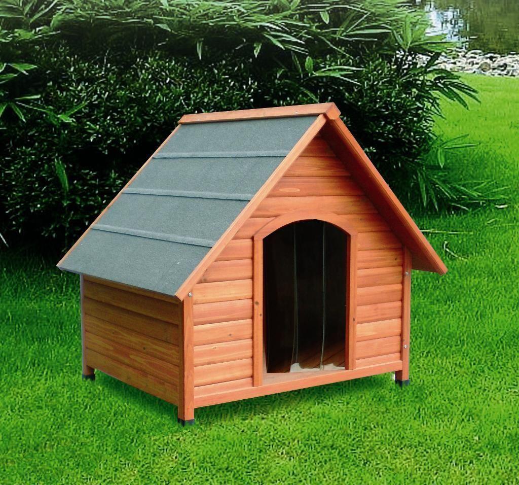 risparmia il 60% di sconto Cuccia in in in legno per cane + porta omaggio      garanzia di credito