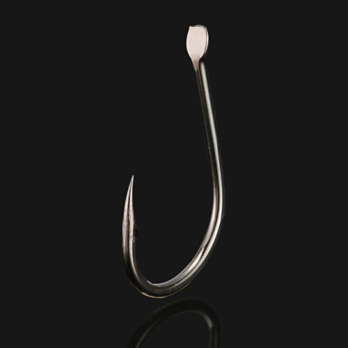 500PCS Fishhook Fishing Hook Assorted Sizes with Barb in Box Sharp Hook #3~#12