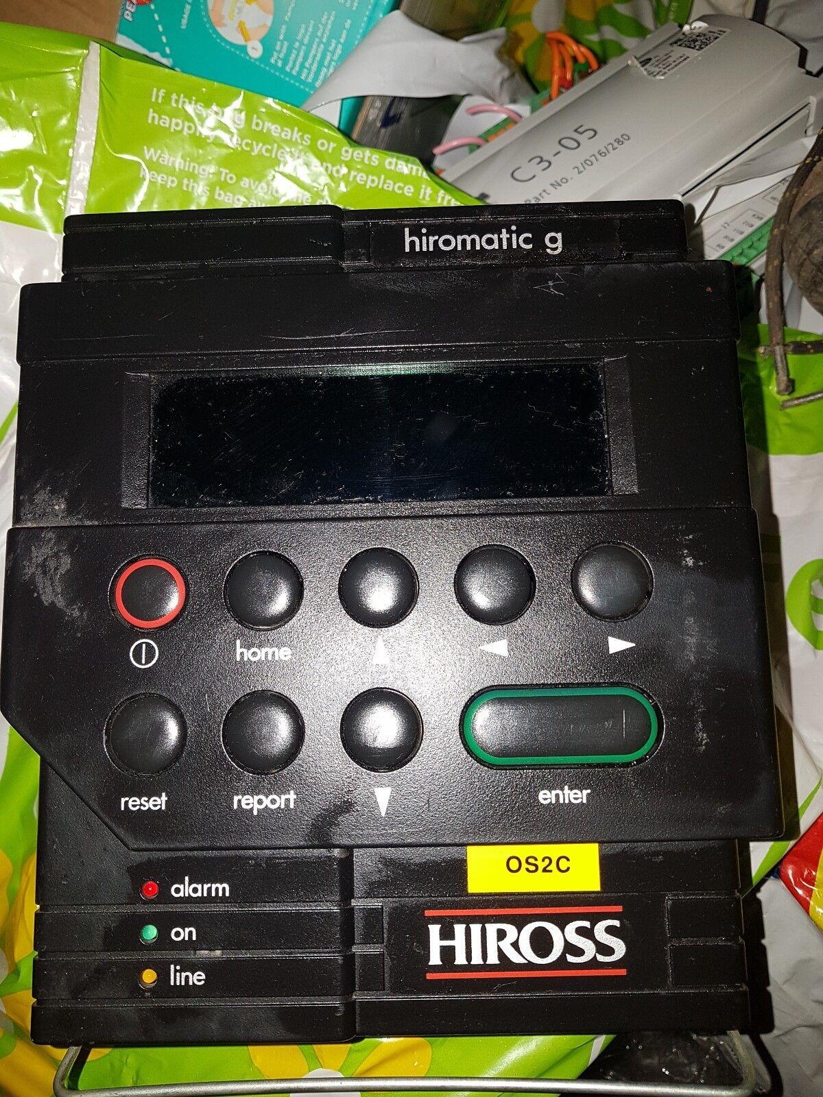 Hiross hiromatic G Code 27.50.51