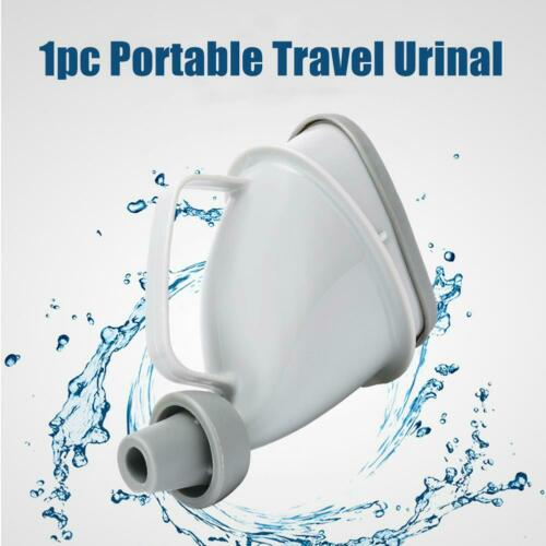 Portable Unisex Urination Device Urinal Funnel Case Travel Stand Up Pee Toilet M