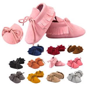 a6db753811456 Nouveau-né Bébé Fille Garçon été Sandale Soulier Tassel Chaussures ...