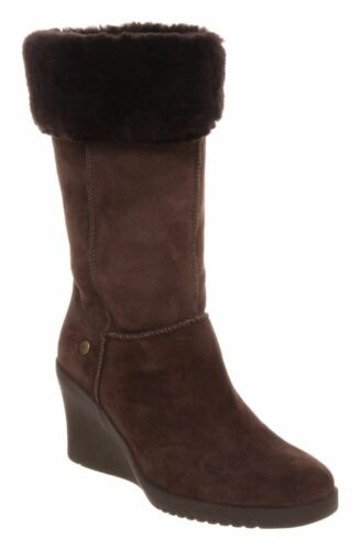 Joslyn 240 Rrp Reino oveja £ Unido marrón cuero 6 piel de Eur de 39 botas de Australia de cuña Ugg® 5 wngRvqUv