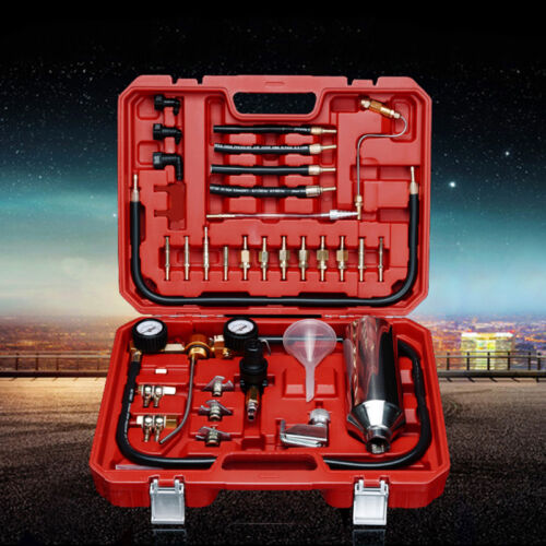Best Car Fuel Injector Cleaner Tester System Kit Cleaning Bottle Tools IN945 New