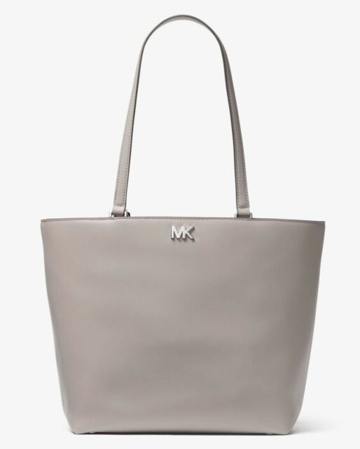 53bb03cfe644 New with tags Michael Kors Mott Medium Pearl Grey Tote Bag SOLD OUT IN  STORES