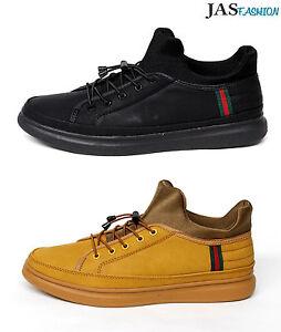 Mens-LaceUp-Casual-Fashion-Trainers-Sport-Designer-Pump-Shoes-Size-6-7-8-9-10-11