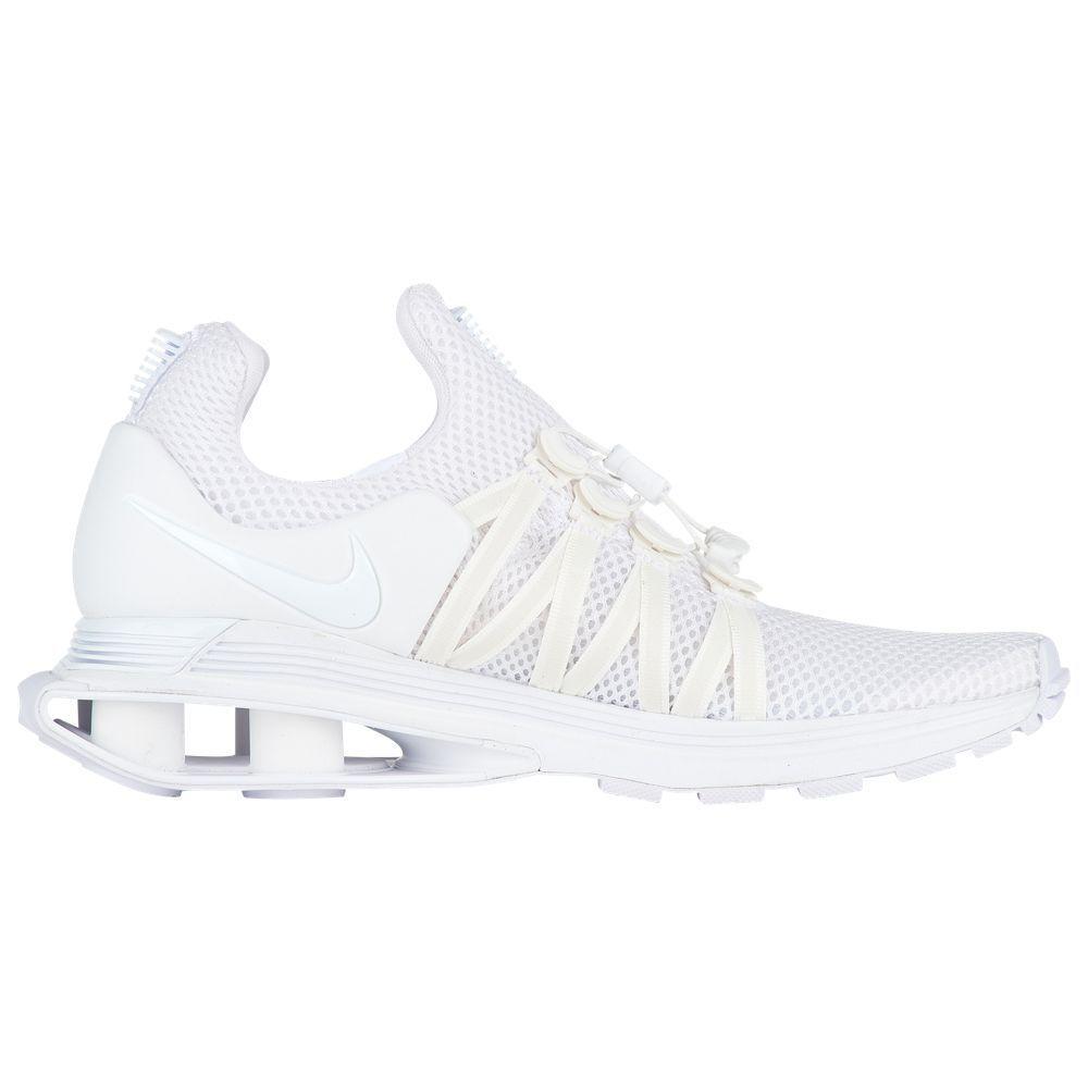 Nuevo en Caja Nueva, para Dama Nike Shox Gravedad AQ8554-100 Zapatillas Correr