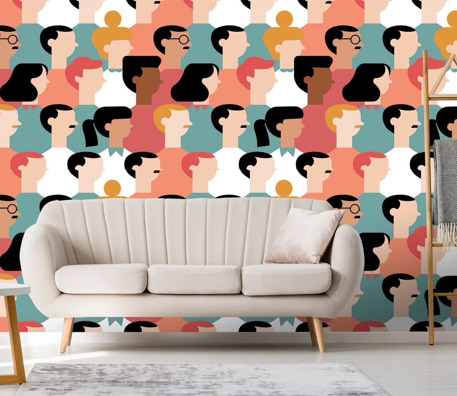 3D Abstract People 15 Wallpaper Mural Print Wall Indoor Wallpaper Murals UK