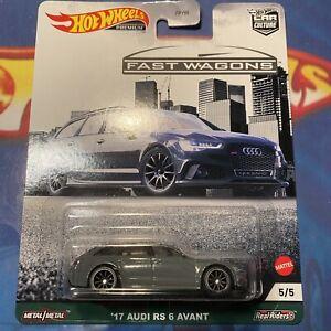 2021 Hot Wheels Premium '17 Audi RS6 Avant - Fast Wagons ...