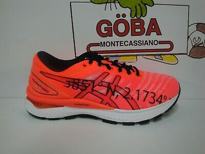 ASICS GEL NIMBUS 22 MEN'S FLASH CORALFLASH CORAL NIMBUS 22 UOMO BARCELLONA | eBay