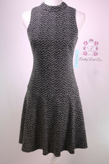 Antonio Melani Uegene Mock Neck Sleevless Dress Size 0 Regular 0 Ebay