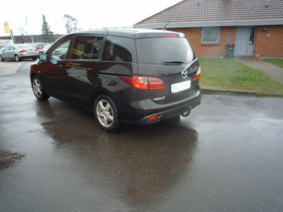 Mazda 5 1,6 DE 115 Advance Diesel modelår 2011 km 240000 Sort
