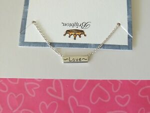Brighton-Love-Heart-Bar-Reversible-Pendant-Necklace-New-tags