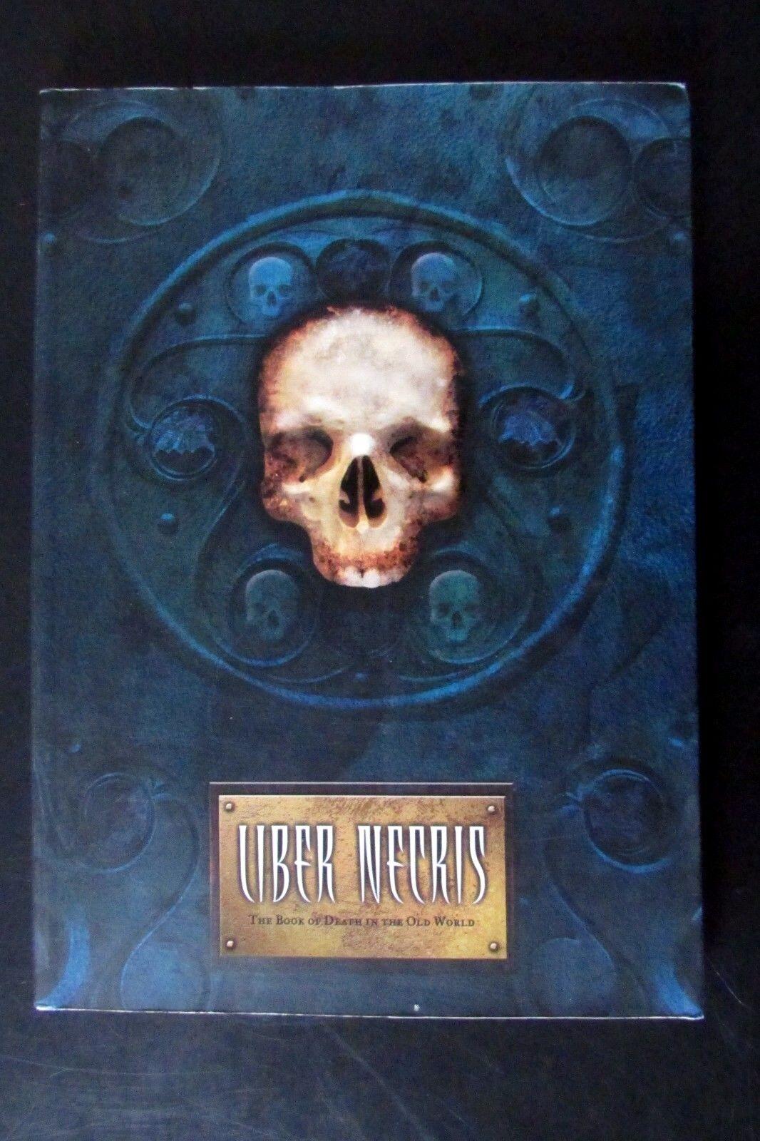Fuera de imprenta ciudadela Warhammer caos no-muertos Liber Necris Libro de la muerte del viejo mundo