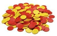 200 Plastic Two Color Counters Math Manipulatives Teacher Resources Homeschool