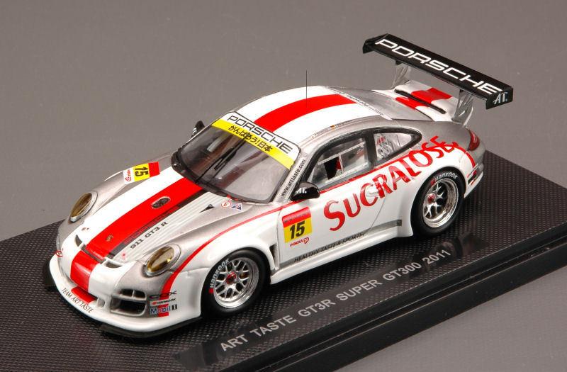 ventas calientes Porsche 911 997 997 997 Gt3 R  15 súper Gt300 Art Taste 2011 Shimizu Bergmeister 1 43  servicio de primera clase