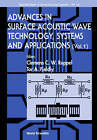 Advances in Surface Acoustic Wave Technology, Systems and Applications: Volume 1 by World Scientific Publishing Co Pte Ltd (Hardback, 2000)