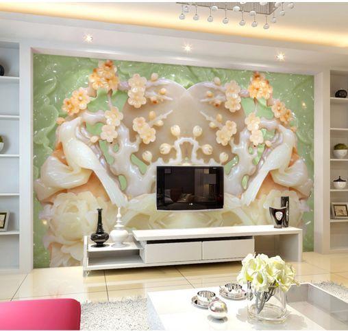 3D Kunst Jade 678222 Fototapeten Wandbild Fototapete BildTapete Familie DE