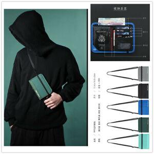 P-Travel-Passport-Wallet-Holder-RFID-Blocking-Travel-Waterproof-Credit-Zipper