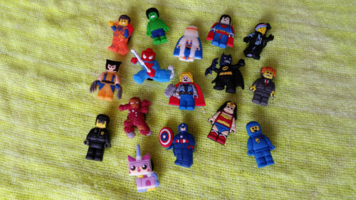 LEGO MOVIE shoe charms//cake toppers HUGE LOT OF 16!! FAST USA SHIPPING!!