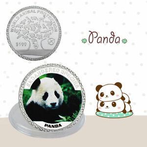 China-Panda-100-Moneda-Conmemorativa-de-Plata-Proteccion-Mundial-de-los-Animal