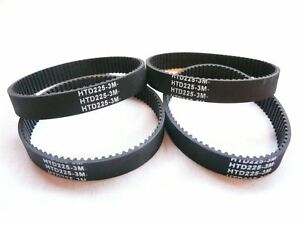 4-x-Bosch-Drive-Belt-To-Fit-3272A-3365-51534-53518-B1750-PLH181-2604736001