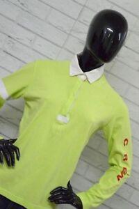 Polo-MURPHY-amp-NYE-Donna-Woman-Taglia-Size-L-Maglietta-in-Cotone-Shirt