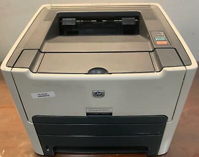 HP LaserJet 1320 Workgroup Laser Printer Page Count 37659 No