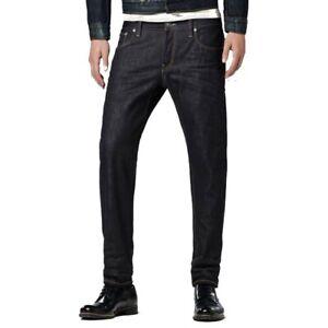 G-Star 3301 LOW TAPERED RAW Oxford Denim Jeans 50779.5684.001 Größe w29 l34 NEU