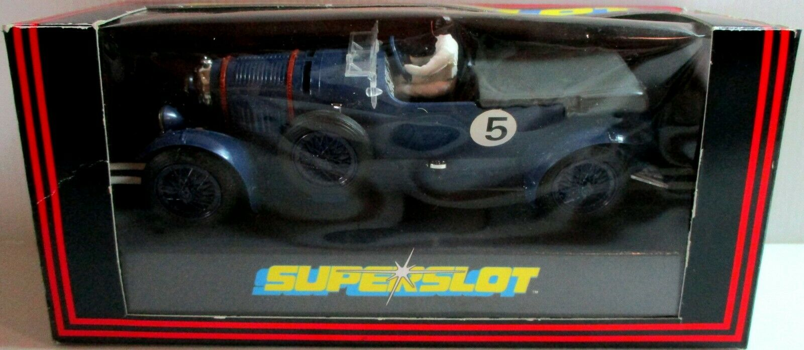 Scalextric - H242 Bentley Azul súperslot - Nuevo Vintage en Caja Coleccionable
