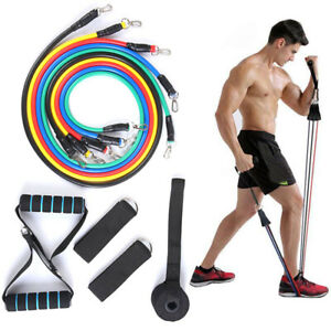 11PCS-Resistance-Bands-Set-Pull-Rope-Home-Gym-Equipment-Workout-Fitness-Exercise