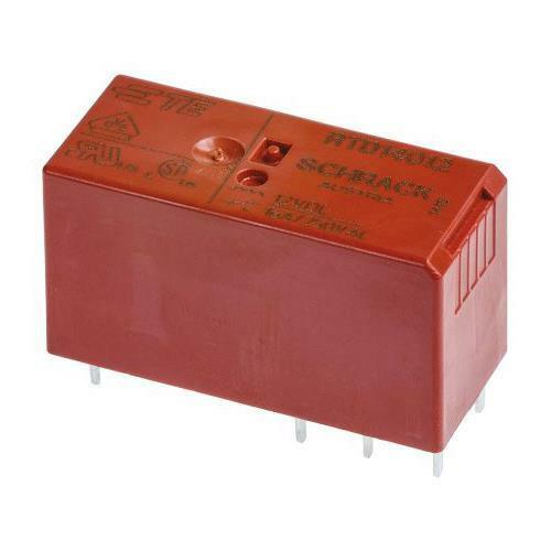 12A SPDT Miniature PCB Relay 12V Coil 22 x 16 x 16.4mm