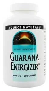 Source Naturals - Guarana Energizer 900 mg. - 100 Tablets