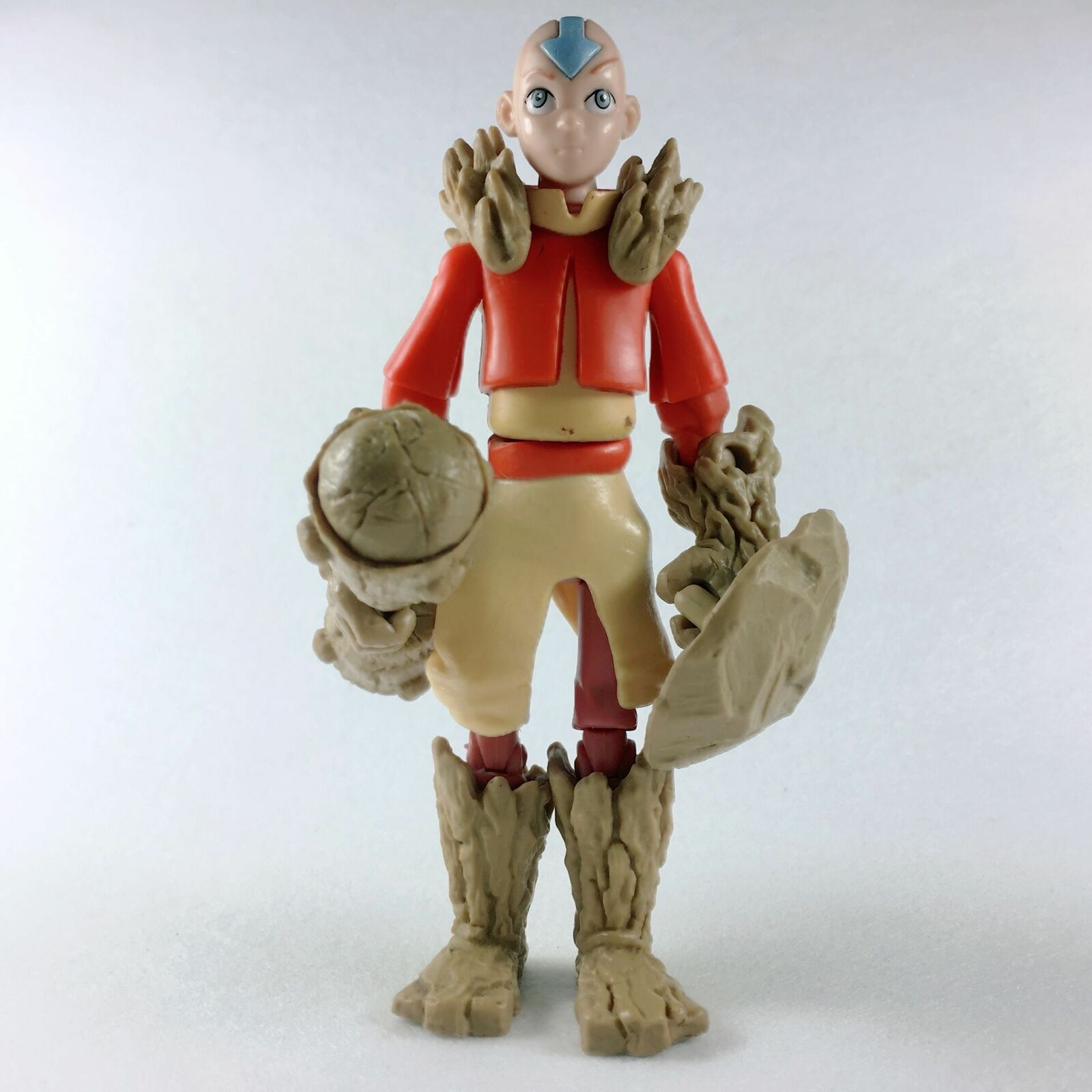 Avatar The Last Airbender Aang w  weapon Action Figure Collection 6in Mattel