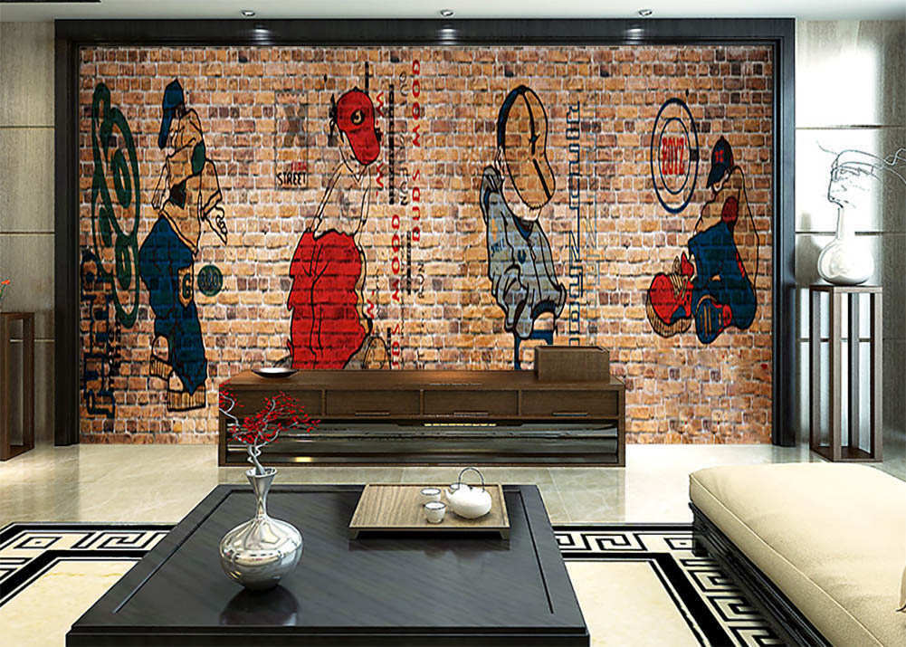 Mr Hat Covering Surface 3D Full Wall Mural Photo Wallpaper Print Home Kids Decor
