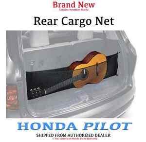 genuine oem honda pilot rear cargo net 2016 08l96 tg7 100. Black Bedroom Furniture Sets. Home Design Ideas