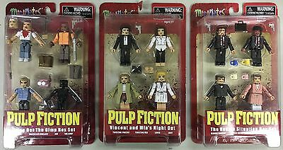 Pulp Fiction Minimates The Bonnie Situation Box Set