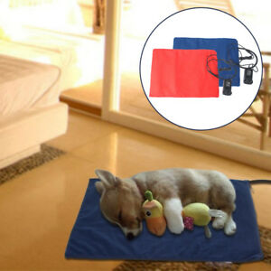 40cm*30cm Heat Pad Cat Dog Bed Pet Puppy Animal Electric Heater Mat +12V UK Plug
