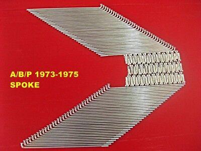 KAWASAKI Z1 A//B//P 1973-1975 FRONT C REAR SPOKE SET 80PCS