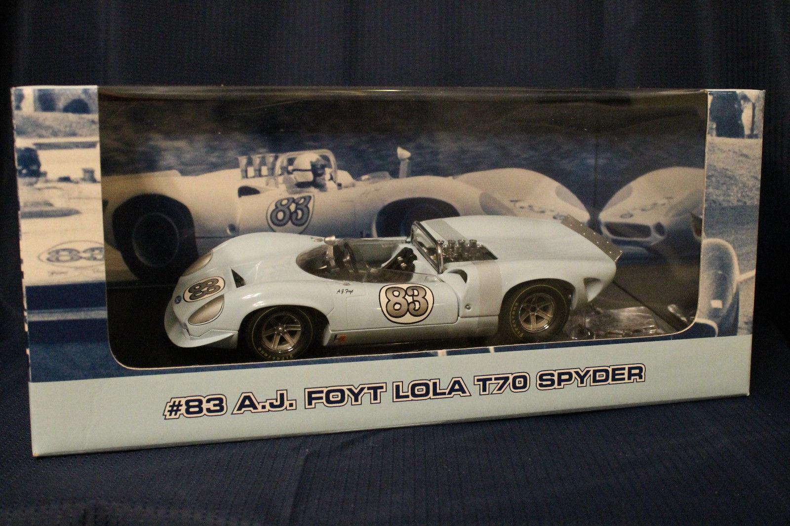 Gmp 1:18 a J Foyt Auto da Corsa Lola T70 Spyder Numerato Edizione Limitata