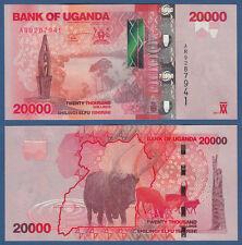 UGANDA  20.000 Shillings 2013  UNC  P. 53 b