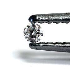 loose individual round diamond melee 1.8mm SI1 G H 0.02ct vintage estate antique