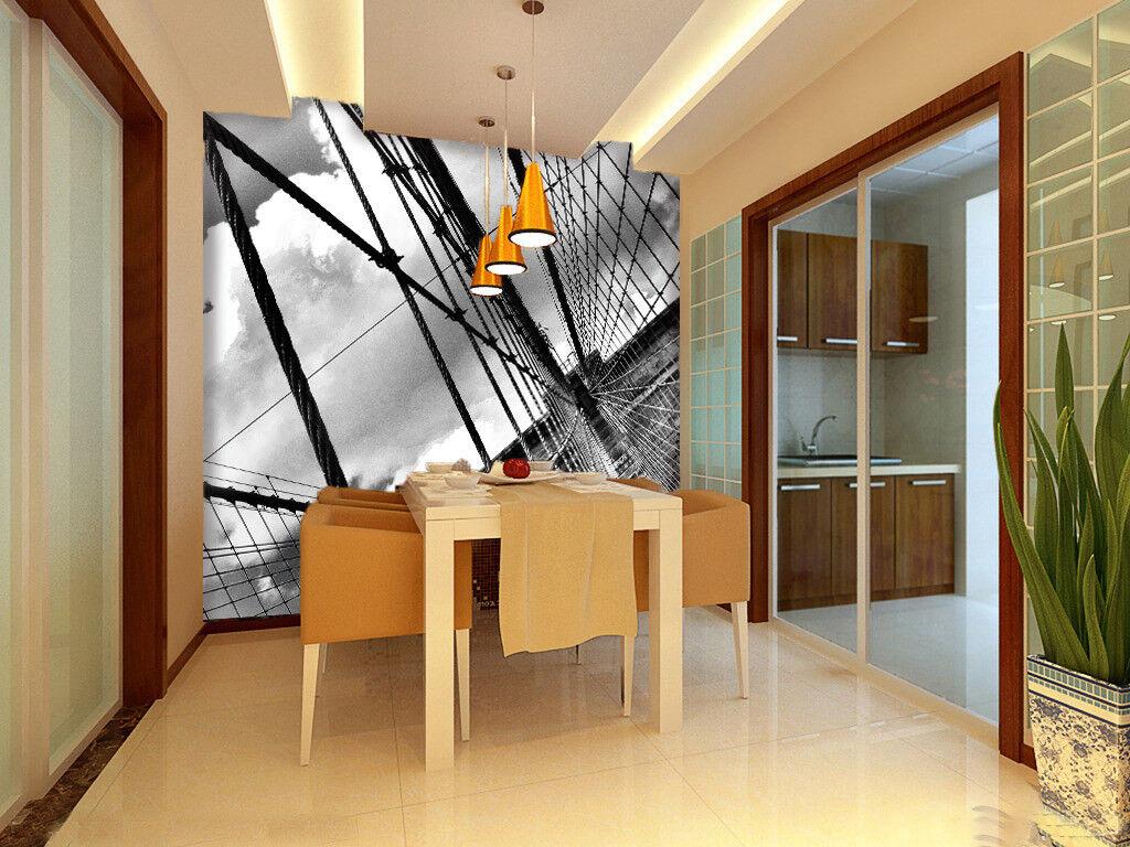 3D Brücke Fotografie 74 Tapete Wandgemälde Tapete Tapeten Bild Familie DE Summer
