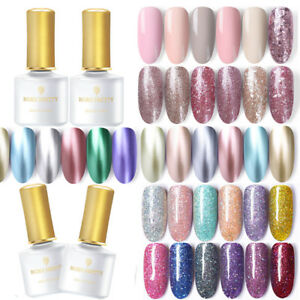 BORN-PRETTY-6ml-Smalto-Gel-UV-per-Unghie-Paillettes-Glitterati-Nail-Gel-Polish