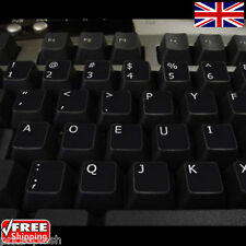 Dvorak Black Keyboard Stickers with White Letters Laptop Computer Notebook PC