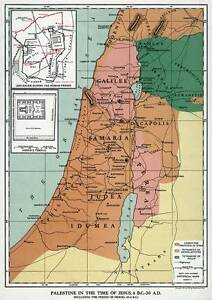Details about Palestine in the time of JESUS CHRIST 24\